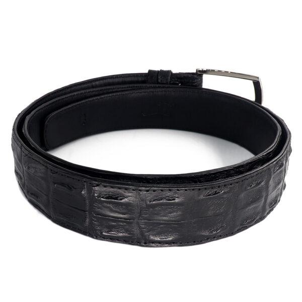 ceinture crocodile noir a 1