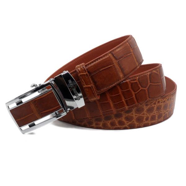 ceinture crocodile veritable 2 textures 1