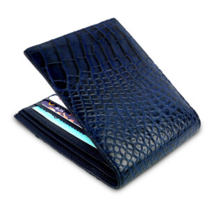 portefeuille crocodile cobalt xl1 1