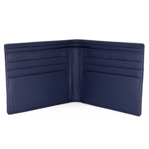 portefeuille crocodile veritable navy mdg serie limitee 2